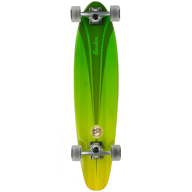Mindless Raider IV Longboard - Green / Yelow