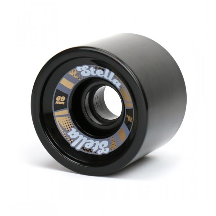 Stella 69mm Longboard Wheels - Black