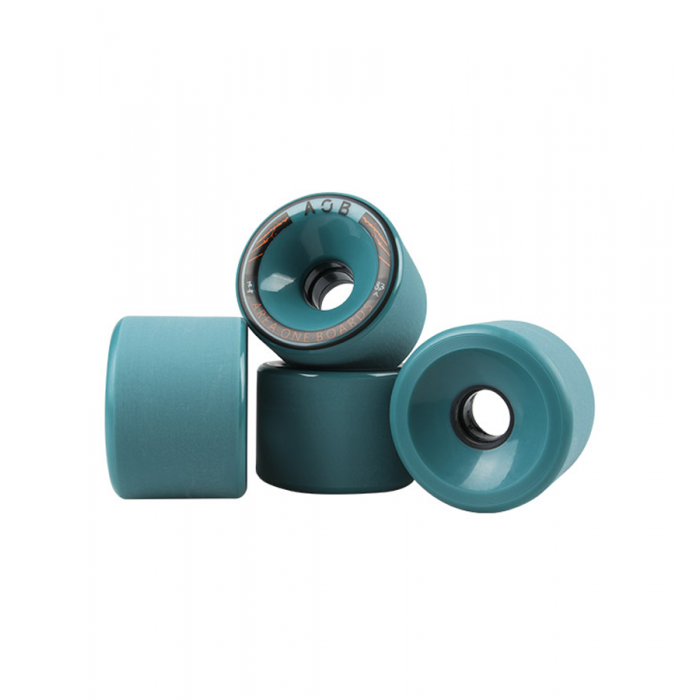 AOB Alpha 83A Longboard Wheels - Blue