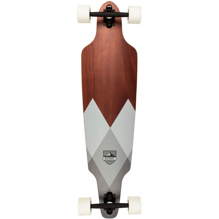 D Street Geo Drop Through Longboard