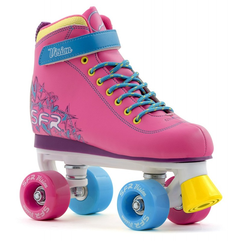 SFR Vision II Kids Quad Skate - Tropical