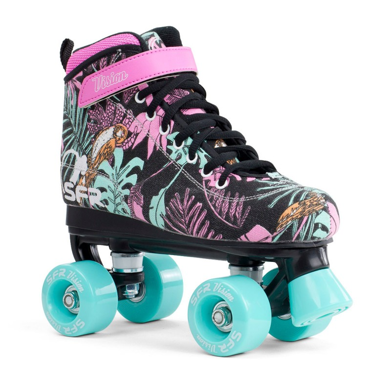 SFR Vision Canvas Kids Quad Skate - Jeans