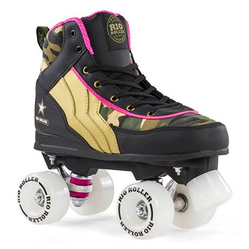 Rio Roller Camo Kids Quad Skate - Limited Edition