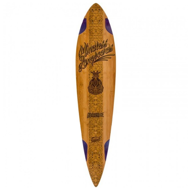 Mindless Voodoo Lakota Longboard Deck - Natural