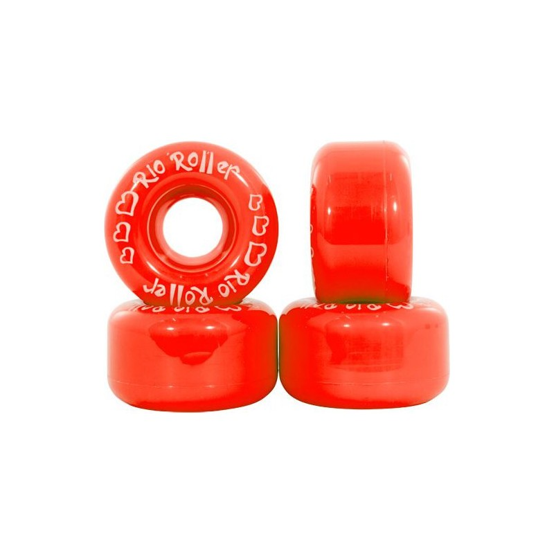 Rio Roller Coster 58 mm Wheel - Red