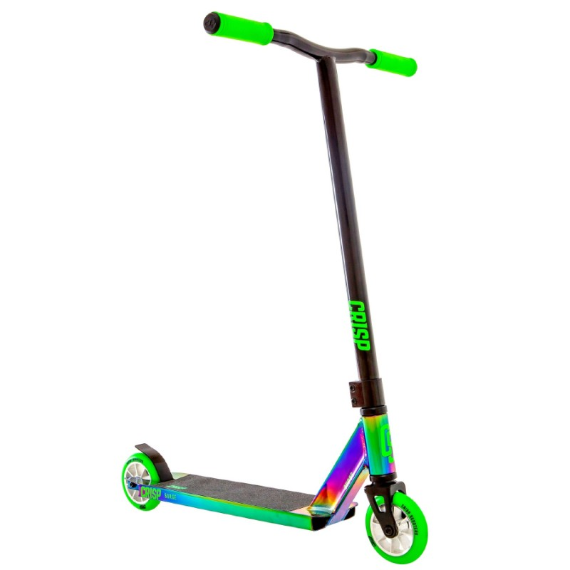 Crisp Surge Scooter - Neochrome / Green