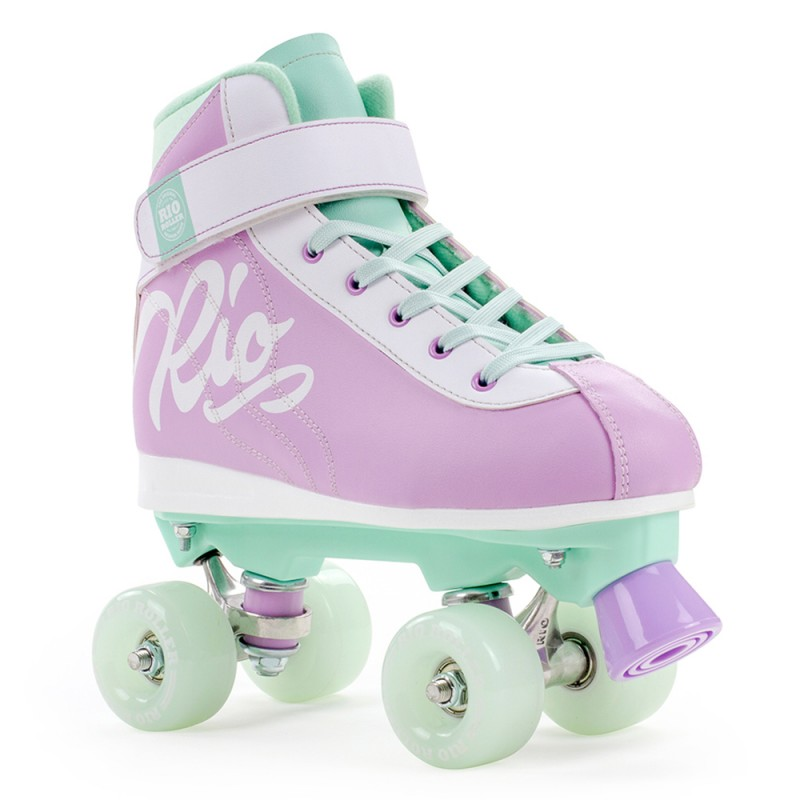 Rio Roller Milkshake Adults Quad Skate - Purple / Green