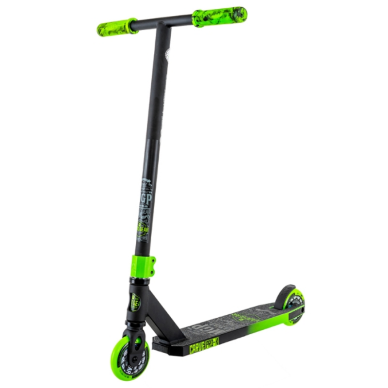 Madd Gear Carve Pro X Scooter - Black / Green