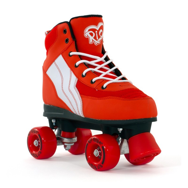 Rio Roller Pure  Quad Skate - Red / White