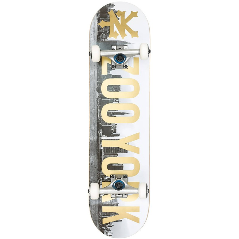 "Zoo York Skyline Gold 7.875"" Skateboard"