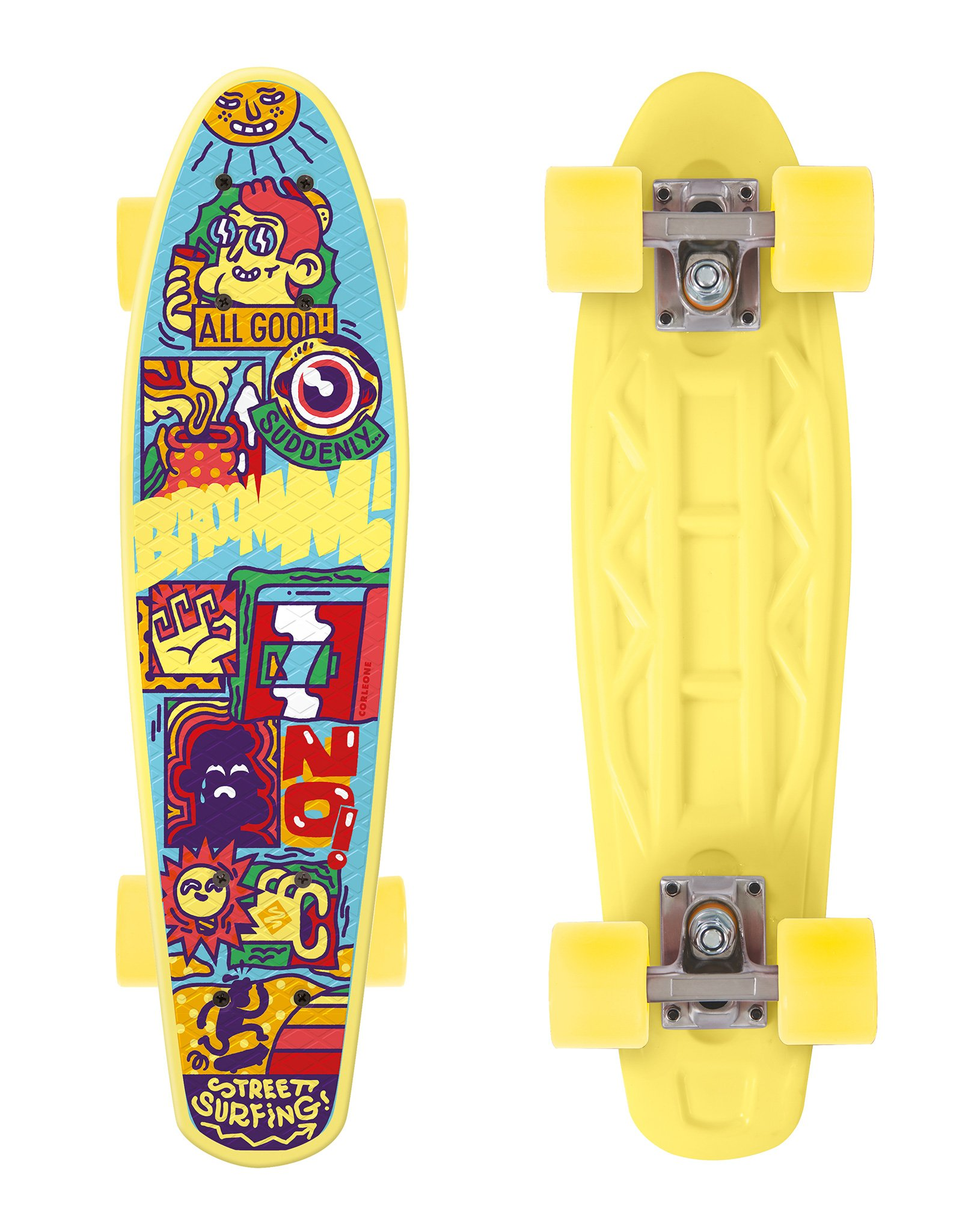 Penny board - Street Surfing Corleone Board Cruiser - All Good