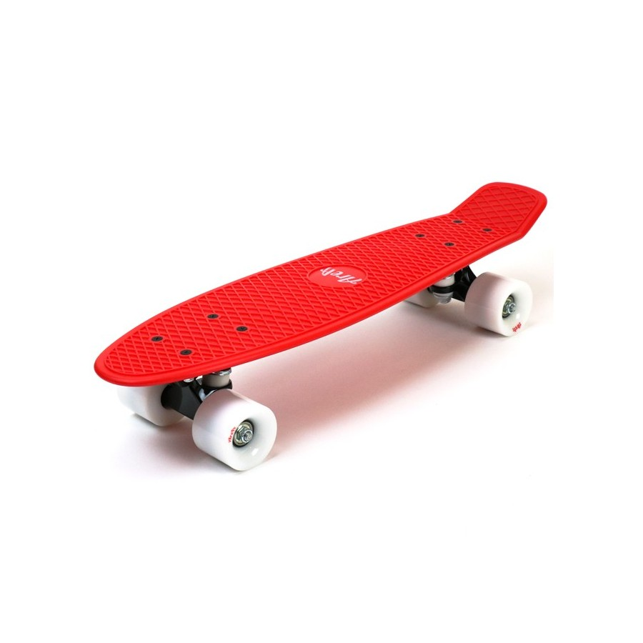 "Area Candyboard Cruiser - Red / White 22"" (56 cm)"