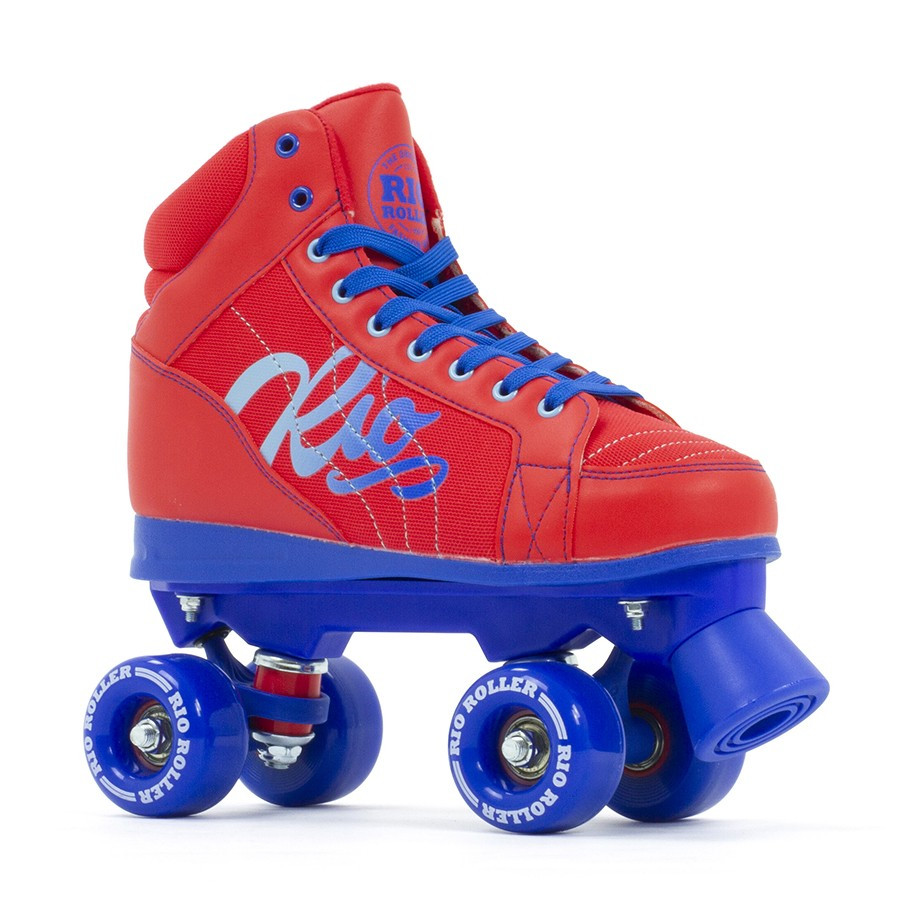 Rio Roller Lumina  Quad Skate - Red / Blue