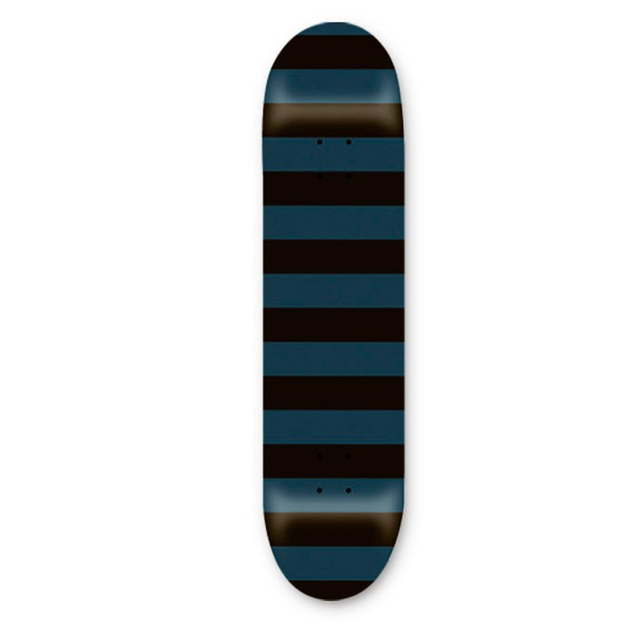 "SDS Fat Stripe 7,625"" Deck - Charcoal"