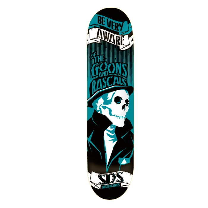 "SDS Very Aware 7.75"" Deck - Goons and Rascals"
