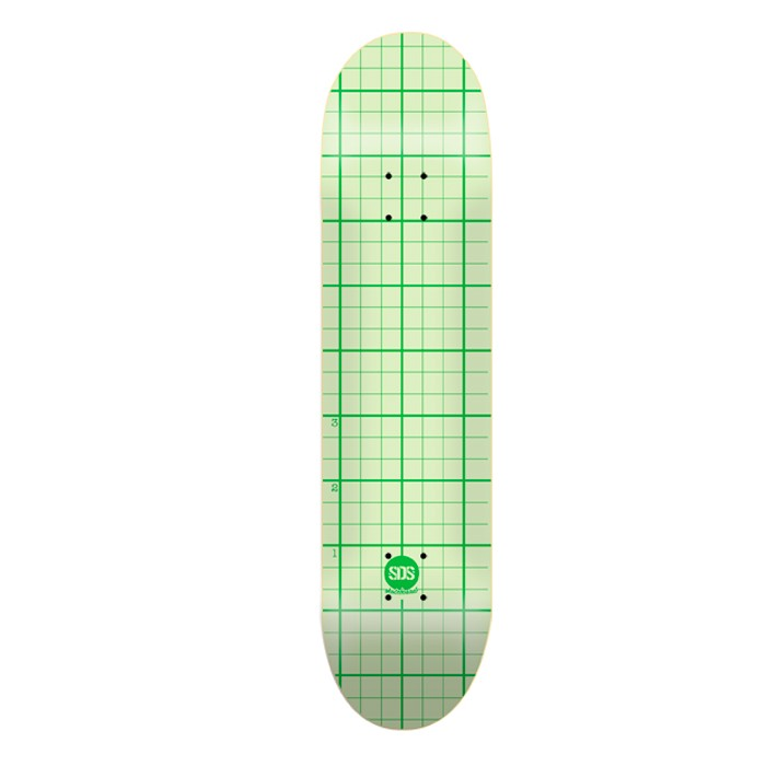 "SDS Write-up 7,75"" Deck - Graph Paper"