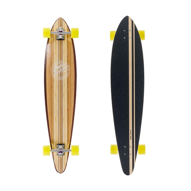 Mindless Maverick III Talisman Longboard - Brown
