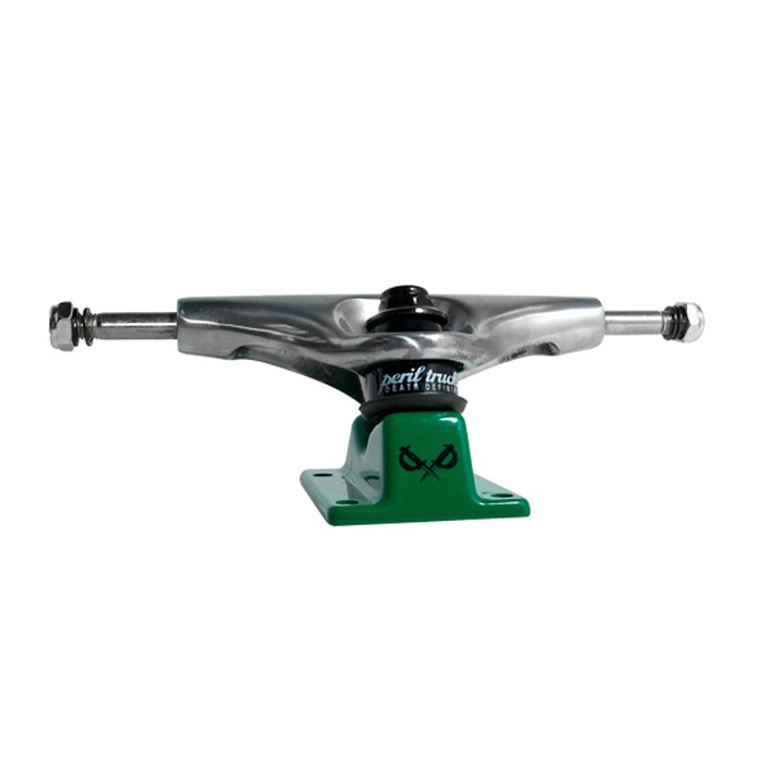 Peril Skateboard Trucks - Green Base