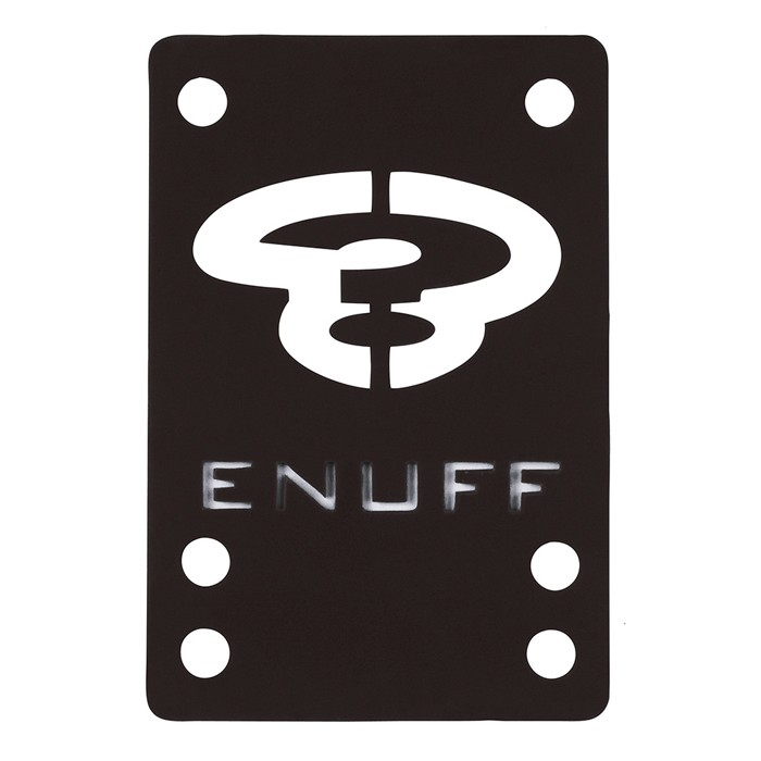 Enuff Skateboard Shock Pad - Black 2x