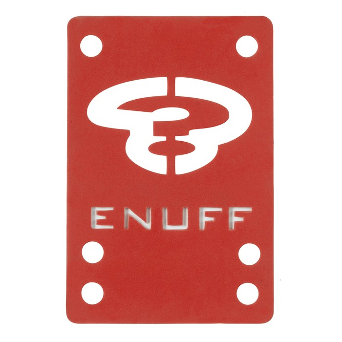 Enuff Skateboard Shock Pad - Red 2x