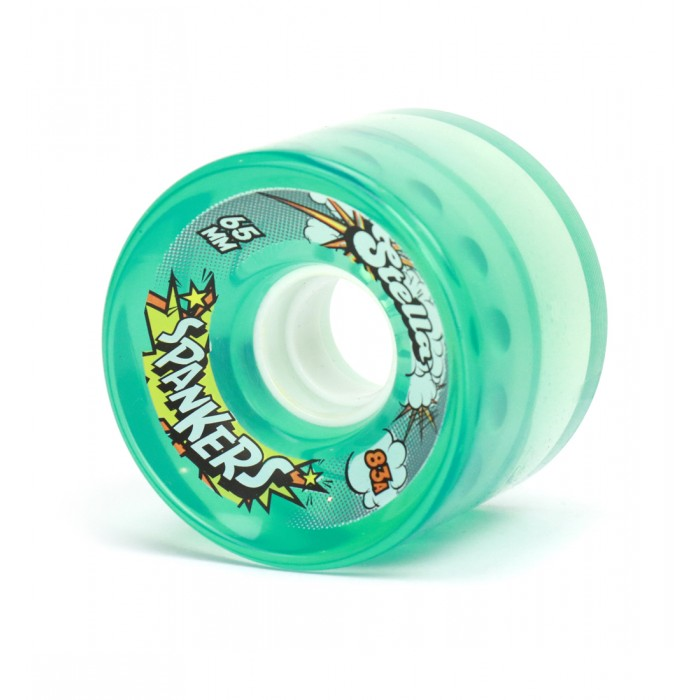 Stella Spanker Longboard Gel Wheels -Blue