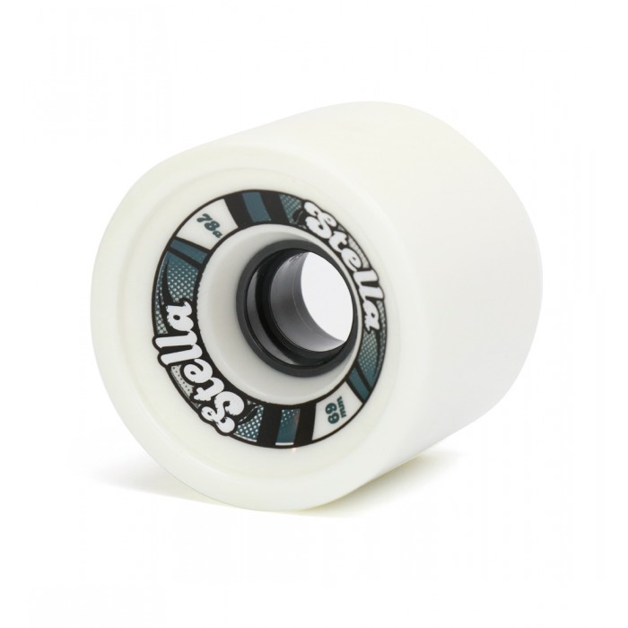 Stella 69mm Longboard Wheels - White