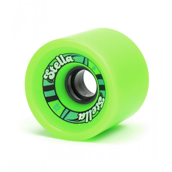 Stella 69mm Longboard Wheels - Green