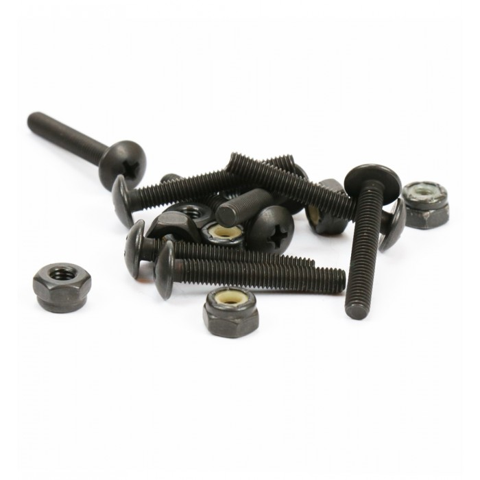 "Steadfast Button Head Mounting Bolt Set 1.25"" - Black"