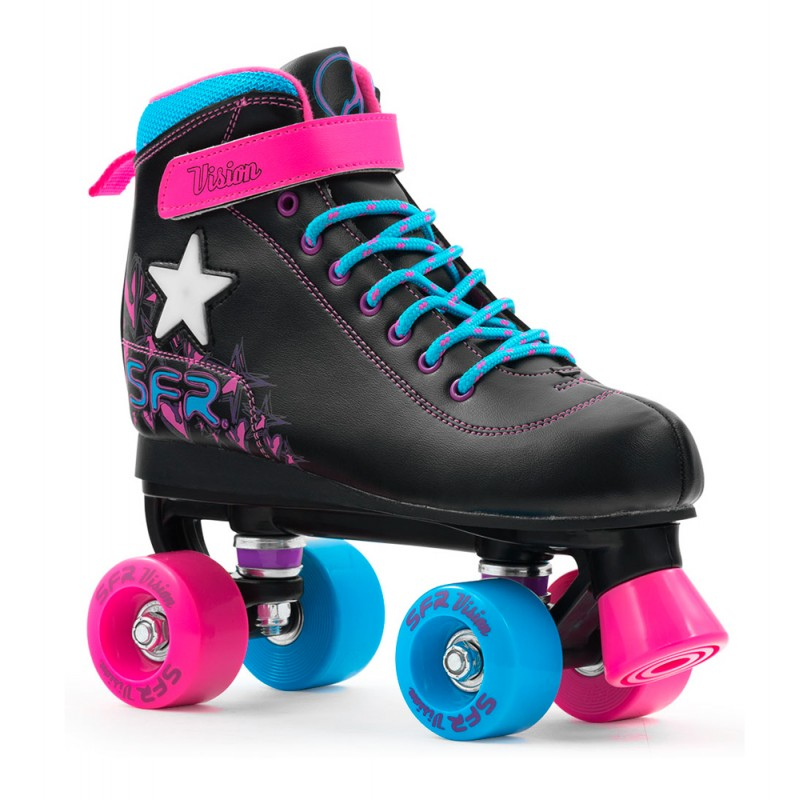 SFR Vision II Lights Kids Quad Skate