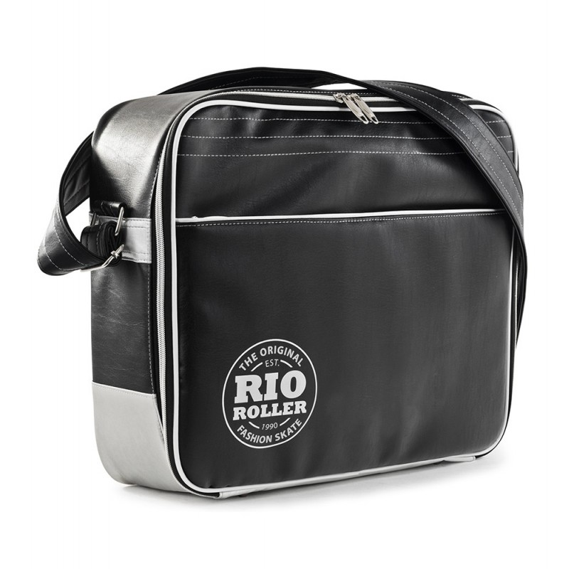Rio Roller Fashion Bag - Black / White