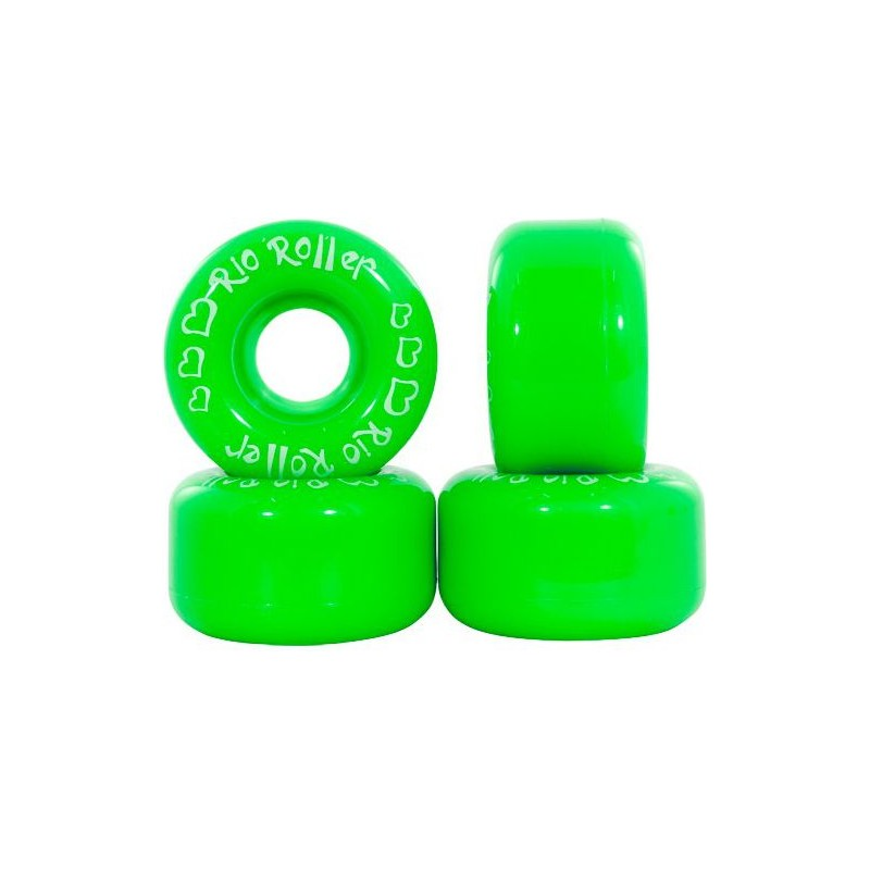 Rio Roller Coster 58 mm Wheel - Green