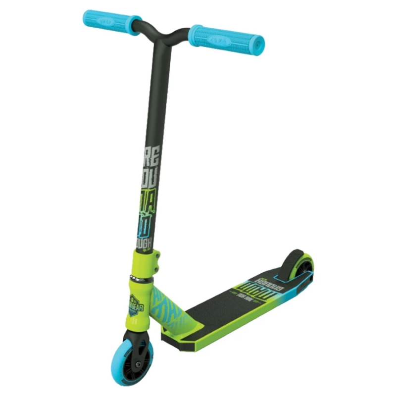Madd Gear Kick Rascal Scooter - Green / Blue