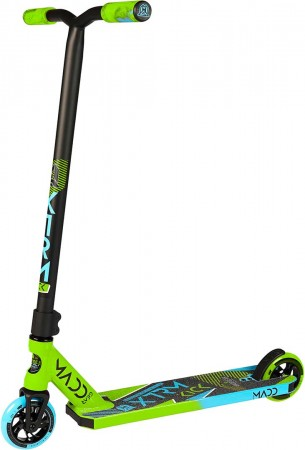 Madd Gear Kick Extreme Scooter - Green / Blue