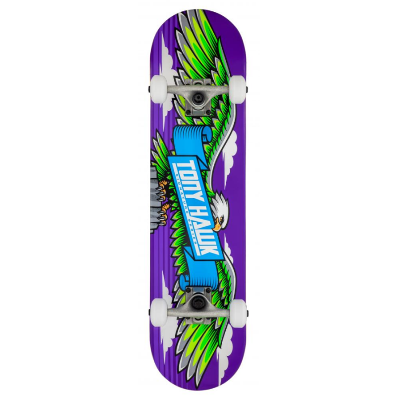 Tony Hawk 180 Series Skateboard - Wingpsan / Lila