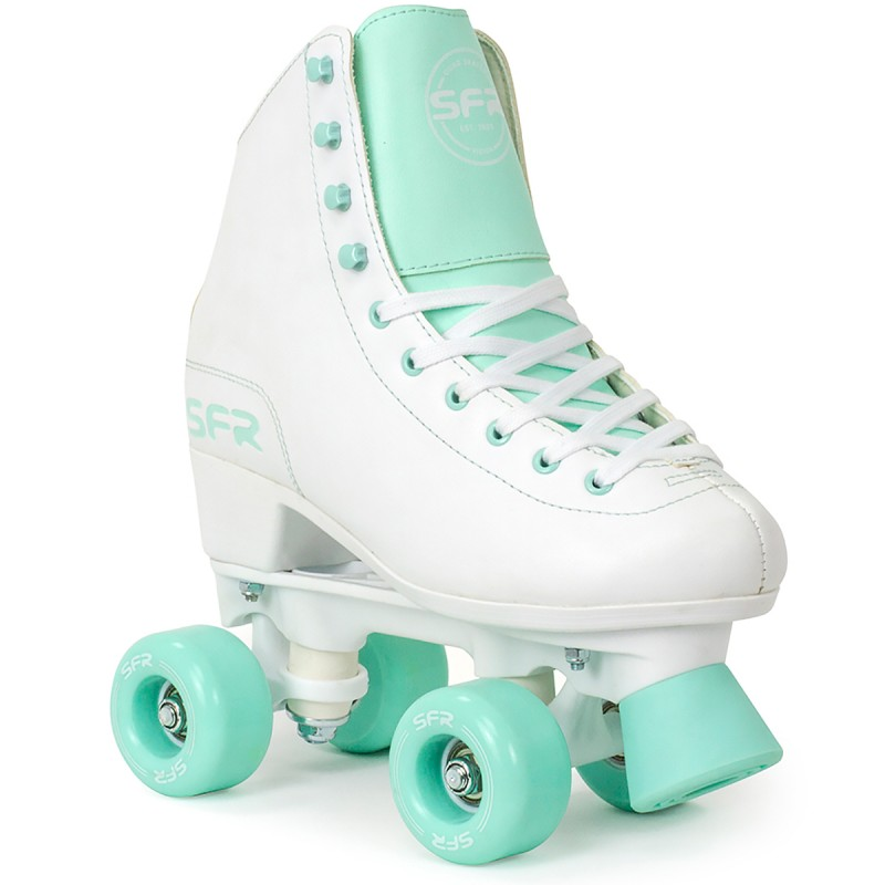 SFR Figure Quad Skate - White / Green