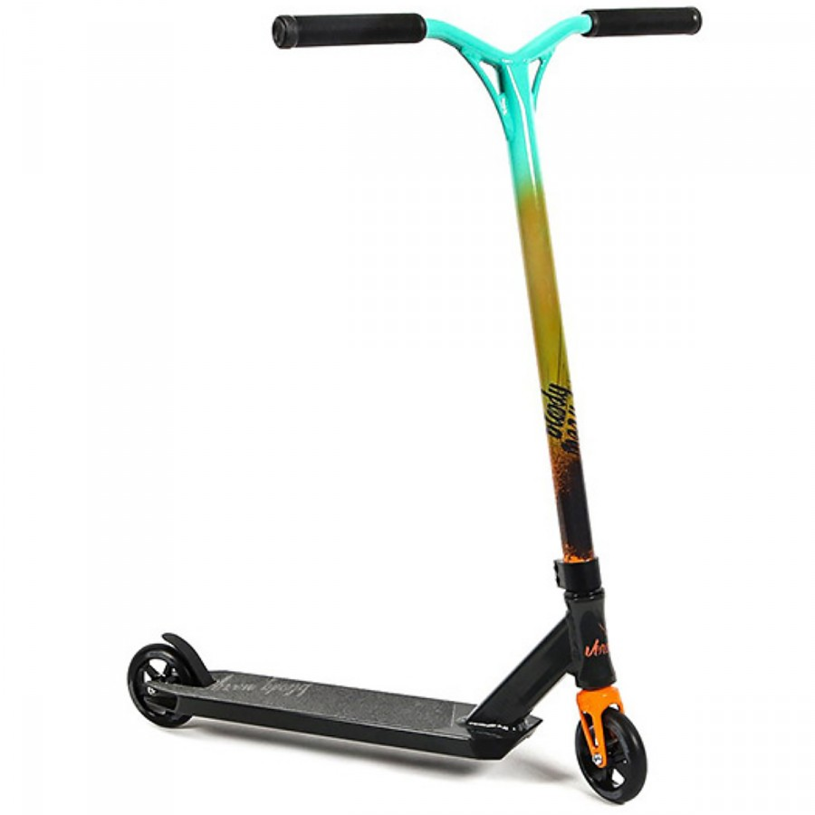 Freestyle kolobežka - Versatyl Bloody Mary Scooter - Orange / Blue / Black