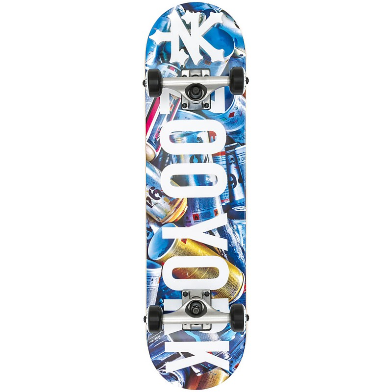 "Zoo York Intensive Cans 7.625"" Skateboard"