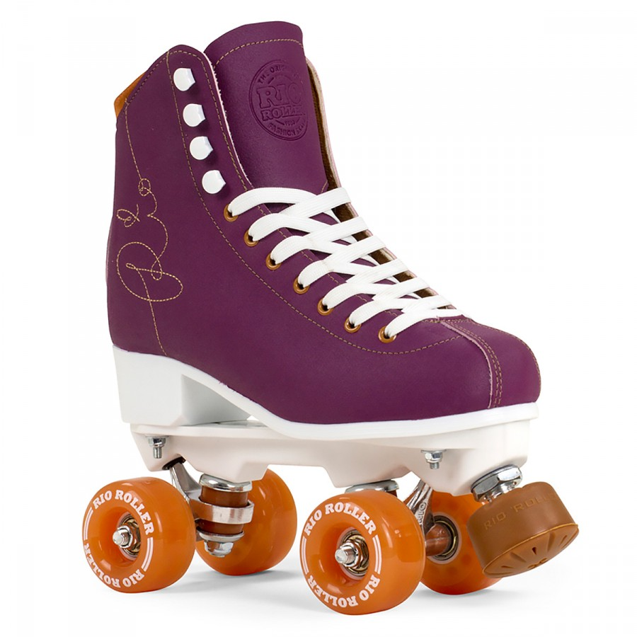 Rio Roller Signature Quad Skate - Purple