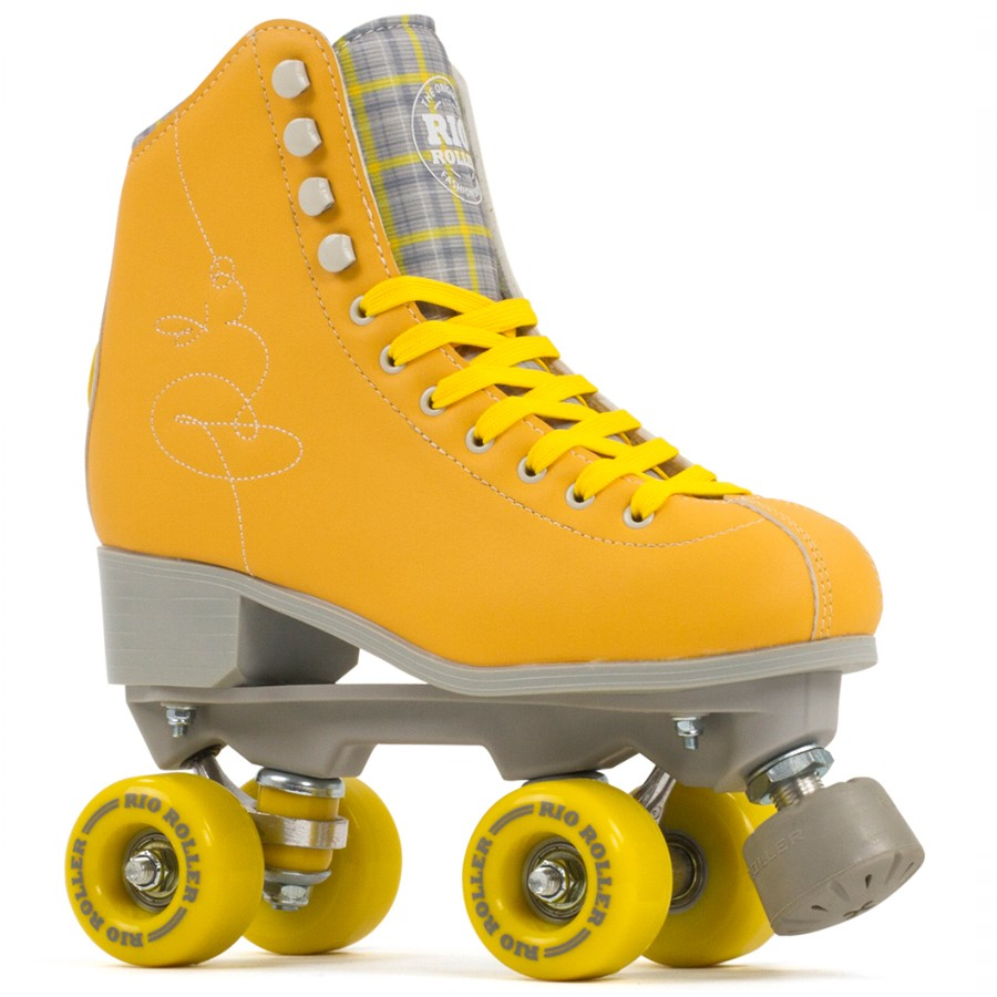 Rio Roller Signature Quad Skate - Yellow