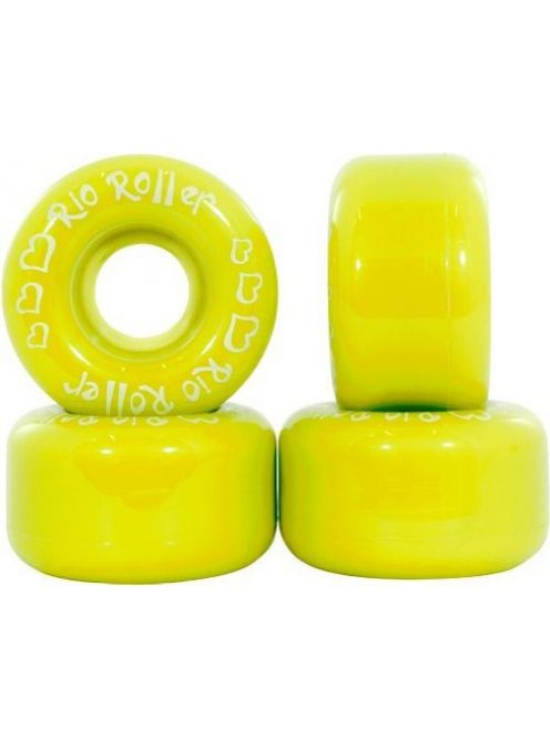 Rio Roller Coster 58 mm Wheel - Yellow