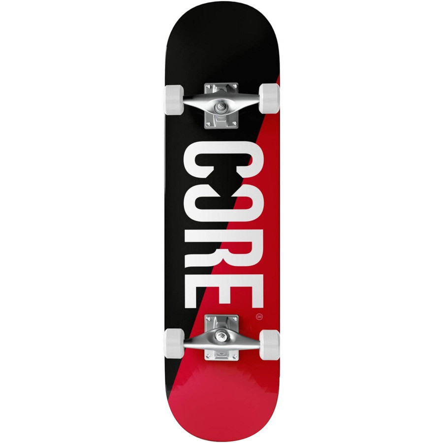 "Core Split 7.75"" Skateboard - Red"