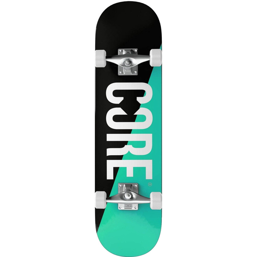 "Core Split 7.75"" Skateboard - Teal"