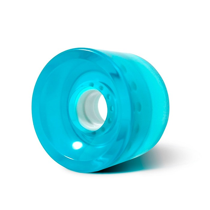 Steadfast Biggies 70mm Gel Longboard Wheels - Blue