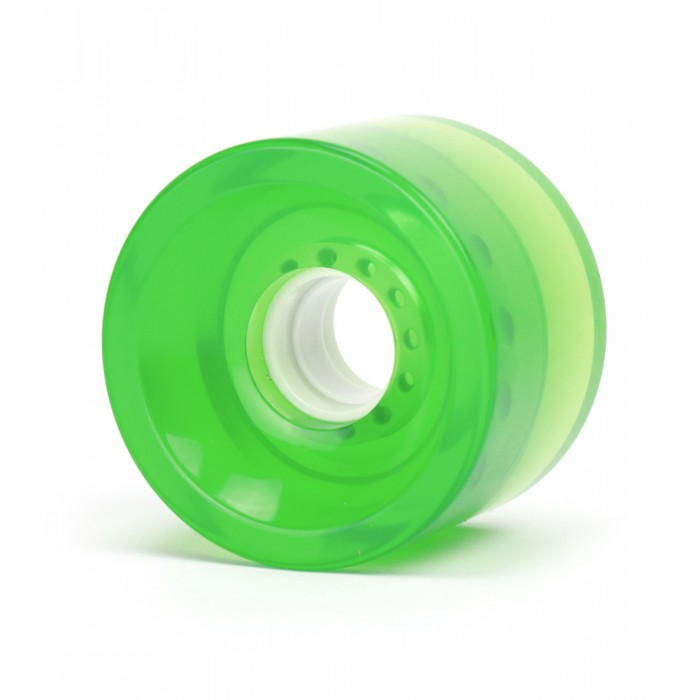 Steadfast Biggies 70mm Gel Longboard Wheels - Green